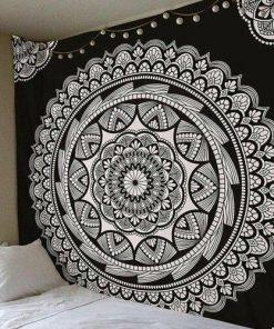 Wandbehang Floral Sun Mandala