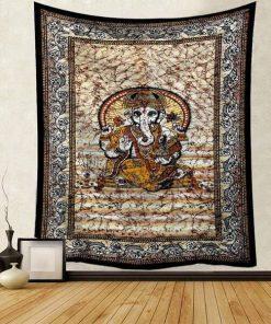 Wandbehang Bohemian & Vintage Ganesh